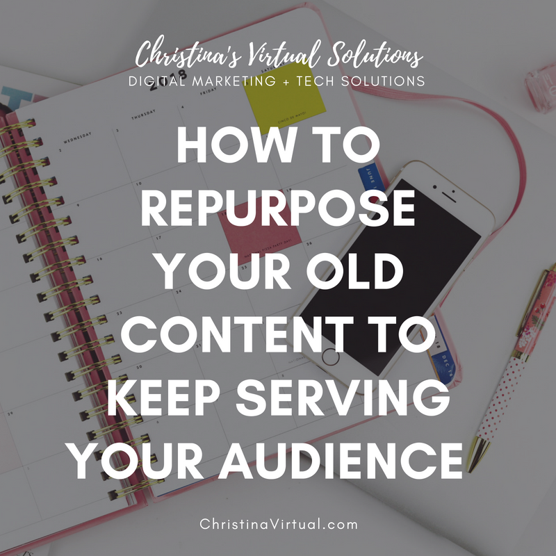 Content Repurposing | Christina's Virtual Solutions
